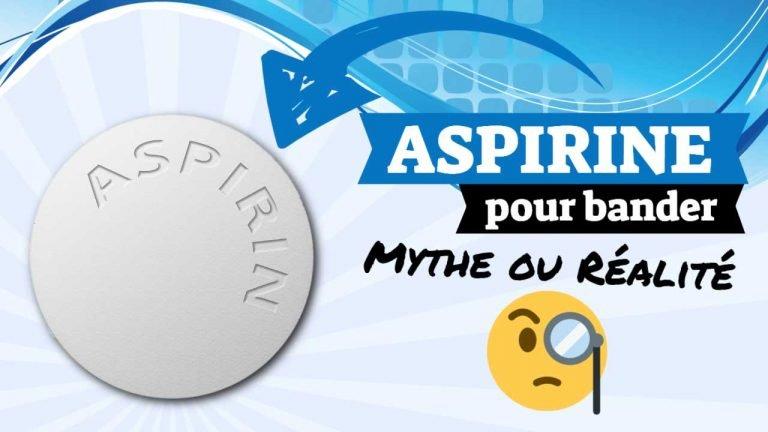 aspirine pour bander