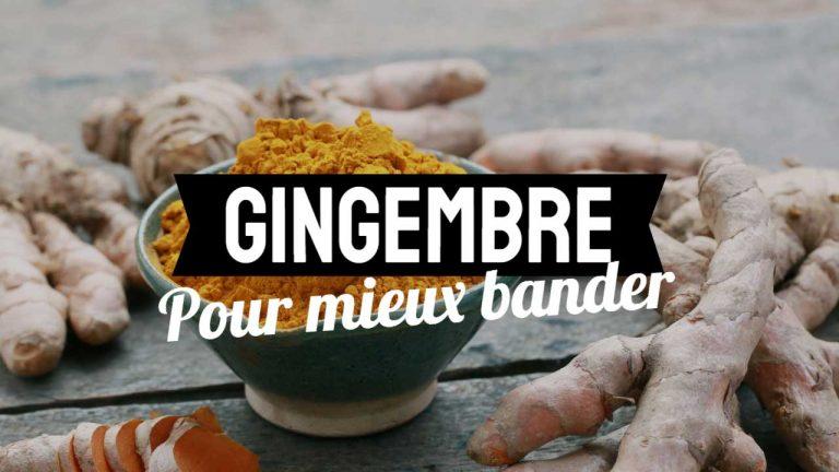Comment préparer le gingembre pour bander