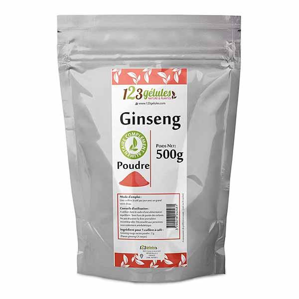 ginseng rouge pour bander plus dur
