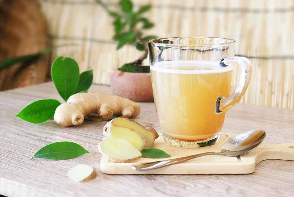 préparer du gingembre aphrodisiaque pour bander